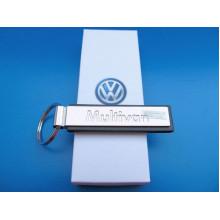 přívěsek klíčenka VW kovový imitace kůže logo T6 T5 Multivan