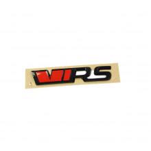 logo znak Škoda nápis VRS černá barva black edition nalepovací