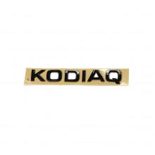 logo znak Škoda nápis Kodiaq černá barva black edition nalepovací