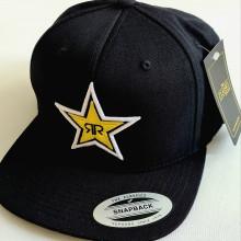 čepice kšiltovka RockStar original snapback černá