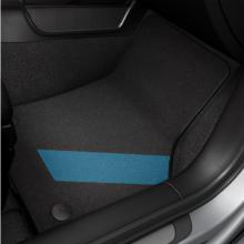 koberce Audi A3 S3 látkové černo modré sada black/nebelblau 8V1061271